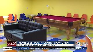 Homeless youth center now open in Las Vegas - Video