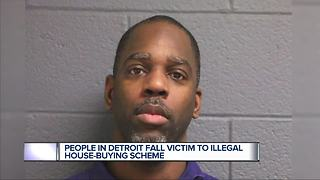 People in Detroit fall victim to house buying scheme - Video