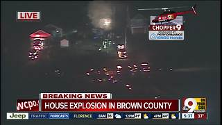House explodes in Brown County, killing 1 - Video