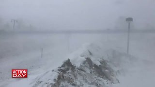 Winter weather conditions in the high country