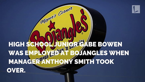 Bojangles' Manager Gives Teen w/ Autism a Chance. Few Weeks After Hiring Him, He Knows…