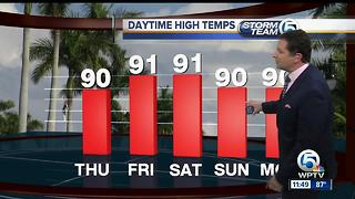 South Florida Thursday afternoon forecast (6/29/17) - Video
