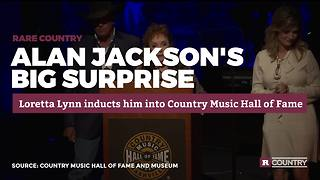 Alan Jackson's big induction surprise | Rare Country