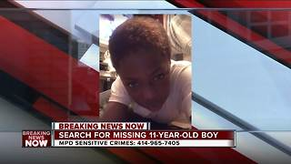 Police looking for missing Milwaukee boy - Video