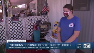 Evictions in Arizona continue despite Ducey's order