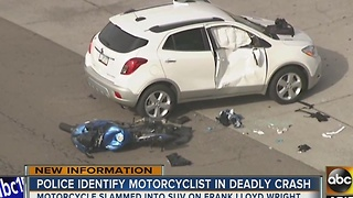 Police release name of motorcyclist killed in Scottsdale - Video