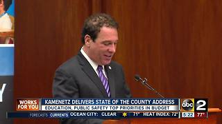 Kevin Kamenetz delivers 'State of the County' address - Video