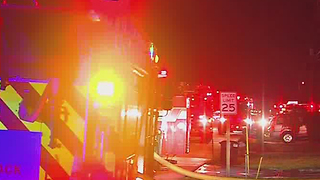 Fire displaces Jupiter resident - Video