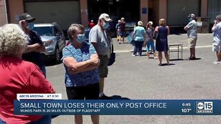 Small town struggles after losing their only post office