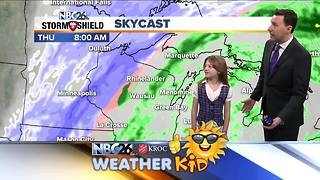Meet Emily! She's our weather kid of the week - Video