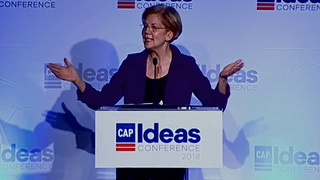 Warren Reveals In Less Than Minute 2020 Plans to Fundamentally Transform America - Video