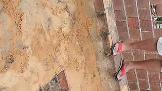 Man Climbed Down A Shaft To Rescue Fallen Cat, But The Cat Doesn't Need Help - Video