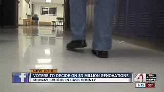 Cass Co. to vote on tax for school renovations - Video