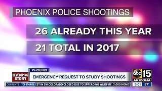 Police chief wants study of officer-involved shootings in Phoenix