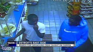 Detroit police search for carjackers targeting drivers on east side - Video