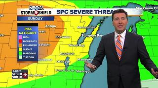 Michael Fish's NBC26 Storm Shield Forecast