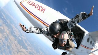 How to survive falling out of a plane without a parachute