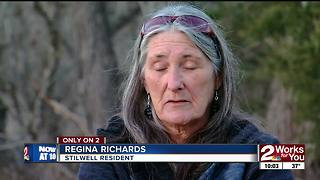 Stilwell woman loses home, family heirlooms in house fire - Video