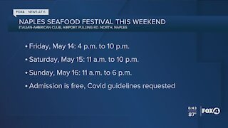 The Naples Seafood Festival underway