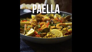 Seafood and Meat Paella
