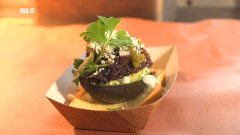 This Avocado Is Stuffed With Barbecue