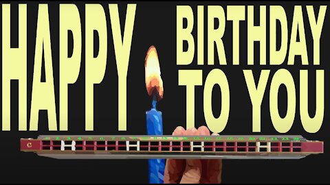 How to Play Happy Birthday to You on a Tremolo Harmonica with 24 Holes