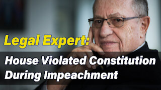 Law Expert: House Violated Constitution During Impeachment