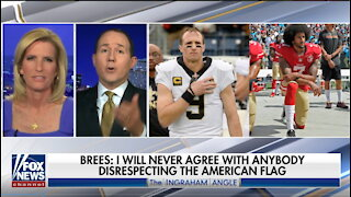 Super Bowl champ Drew Brees attacked for saying he won't kneel during anthem