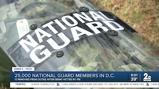 25,000 National Guard members in D.C.