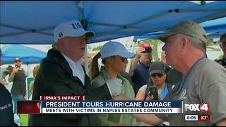 President Trump vows to support Southwest Florida in hurricane recovery efforts - Video