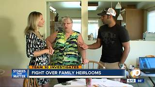 TEAM 10: family fights jeweler over family heirlooms - Video
