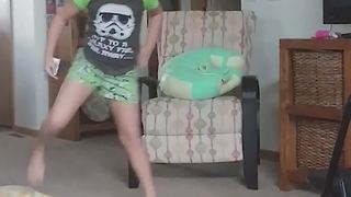 "A Girl Dances To ""Despacito"" Song - Video"