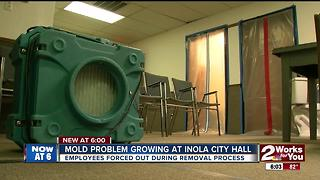 Mold problem plagues Inola City Hall - Video
