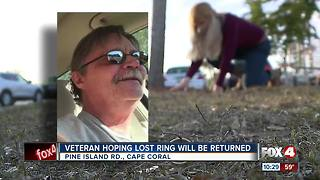 Family searches for father's sentimental ring - Video