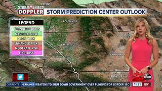 July 30th nightly weather update - Video