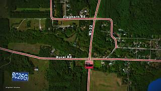 One dead in two vehicle crash in Waupaca County - Video
