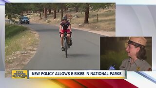 New policy allows E-bikes in Cuyahoga Valley National Park
