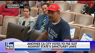 California Citizen Who Immigrated Legally Destroys Sanctuary State In Under 1 Minute - Video