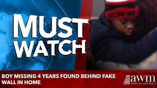Boy Missing 4 Years Found Behind Fake Wall In Home - Video