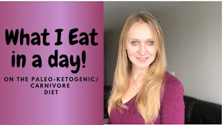 What I eat in a day on the paleo-ketogenic diet