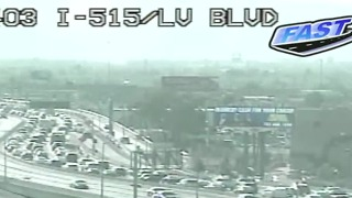 U.S. 95 will close both ways near Las Vegas Boulevard, Casino Center - Video