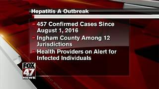 Michigan health agency opens emergency hepatitis A center - Video