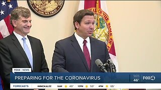 Governor DeSantis news conference on the Coronavirus