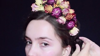 Easy DIY flower crown - Video