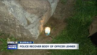 Officers light candle in memory of Diver Craig Lehner - Video