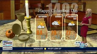 April's First Warning Weather October 5, 2018 - Video