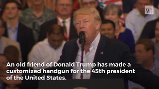 This Gun Was Personally Made for President Trump - Video