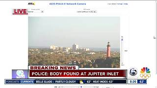 Body found at Jupiter Inlet - Video