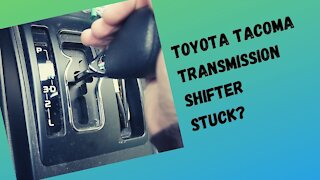 Toyota Tacoma Sticky Shifter? Here's as simple fix!
