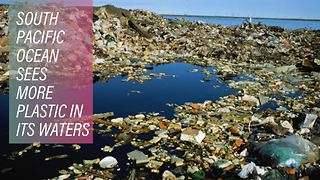 South Pacific Ocean sees more plastic in its waters - Video